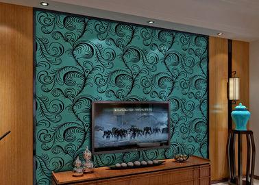 0.7*10M 크기, 친절한 Eco를 가진 호화스러운 방음 우단 무리 Wallpaper/3D 벽지