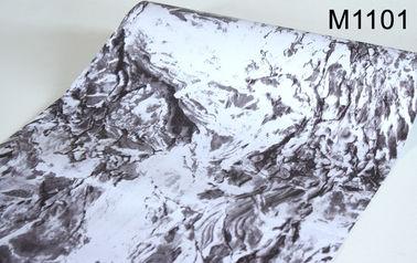 3D 효력 대리석 자동 접착 벽지, 가정 훈장 벽지 0.45*10m